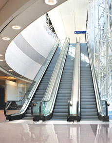 First impressions matter - clean escalators